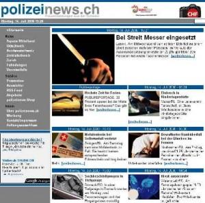 Polizeinews.ch News Schweiz