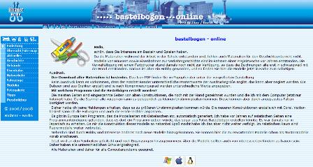 Bastelbogen online als PDF Datei