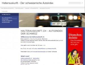Autoindex Schweiz - Halterauskunft.ch