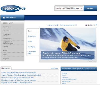 netdoktor.de online