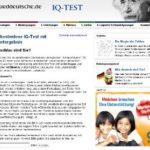 Kostenlos Online IQ Test mit Sofortergebnis – auf süddeutsche.de