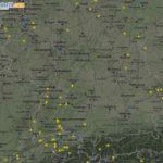 Den Flugverkehr über Europa beobachten – mit flightradar24.com
