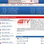 Live Fussballspiel streamen – Live Sport Übertragungen von Fussballspielen, Eishockey, Tennis, etc – mit LiveTV