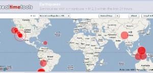 Sismos Online Informacion Mundial de sismos