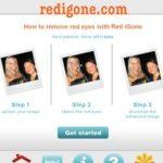 Rote Augen entfernen – mit dem online Bildbearbeitungsprogramm redigone.com