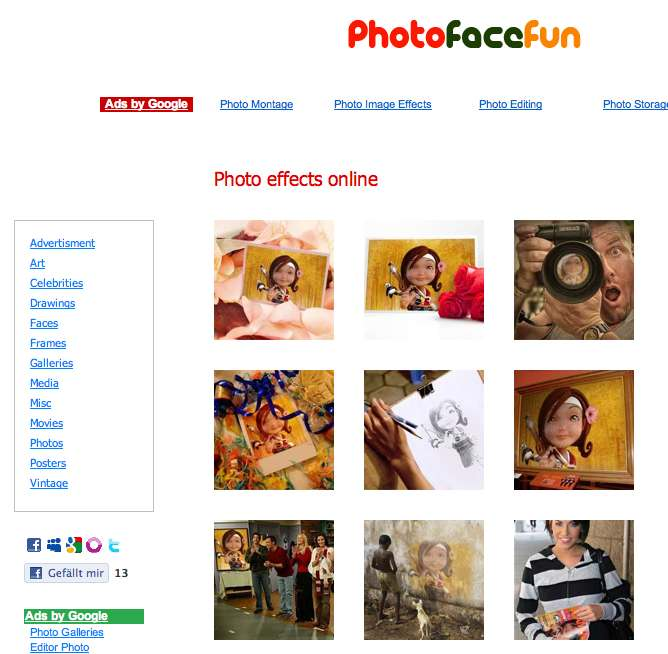 Fotomontagen Online