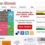 Gratis Poster für das Büro, zu Hause, für Lehrer und für Kinder – poster-street