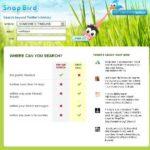 Eine Twitter Suchmaschine (Twitter search) – mit snapbird.org