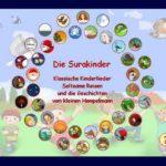 Kinderlieder zum Mitsingen und Geschichten online hören – mit Surakinder.de