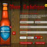 Das eigene Bier Label mit dem Bieretiketten Generator erstellen – Beer Labelizer ist toll!