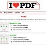 PDF zusammenfügen – PDF trennen – ein tolles Online Tool hilft – ilovepdf.com