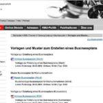 Businessplan Vorlage kostenlos? Tolle Vorlagen finden Sie im KMU Portal der Schweiz. Eidgenossenschaft