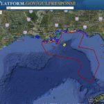 Ölpest im Golf von Mexiko – Ölteppich auf Karte und aktuelle Daten der US-Regierung – mit GeoPlatform