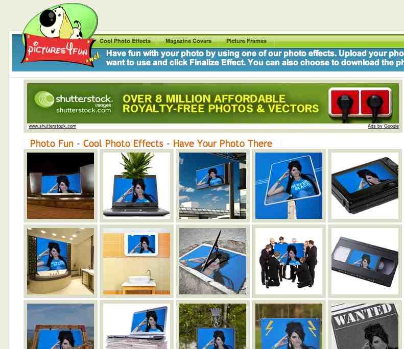 lustige bilder und foto effekte online fotomontage mit. Black Bedroom Furniture Sets. Home Design Ideas