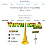 Vuvuzela Sound online – mit dem Vuvuzela Simulator auf Linkorama.ch