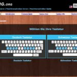 10 Finger System spielerisch lernen – Schreibtrainer online und kostenlos mit sense-lang.org