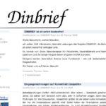 DIN Brief Vorlagen – mit dinbrief.de