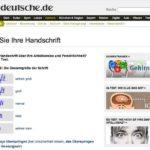 Handschrift deuten – kostenlose Handschriftanalyse mit süddeutsche.de