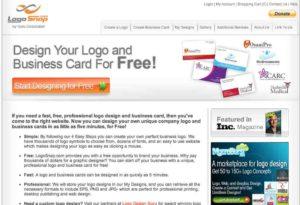 Logo Und Visitenkarten Online Und Kostenlos Erstellen Mit