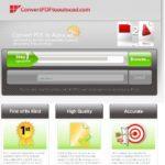 PDF in AutoCAD umwandeln (PDF2DWG, PDF2DXF) – mit convertpdftoautocad.com