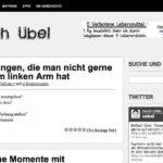 Ein wirklich lustiger Blog – Tränen lachen mit einfach-uebel.com
