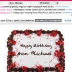 Virtueller Geburtstagskuchen Generator – mit cakesy.com
