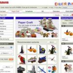 Basteln mit Kindern – Bastelbogen ausdrucken, ausscheiden, keben – mit Canon Papercraft