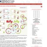 Weihnachtsetiketten zum kostenlosen download – mit worldlabel.com