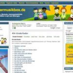 Kostenlos Kinderlieder hören und downloaden – mit kindermusikbox.de