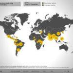 Kinderarbeit heute –  ein Interaktive Karte zeigt die Herkunftsregionen – mit productsofslavery.org