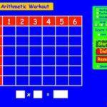 Einmaleins online üben – mit Arithmetic Workout