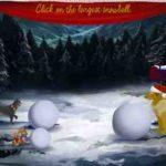 Eine lustige, animierte Weihnachtskarte