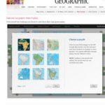 Landkarten Puzzle – Europa, Afrika, Amerika, Asien, Australien – Kontinente puzzeln – mit nationalgeographic.com