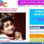 Gesicht verzerren – online mit stretchyourface.com