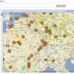 Karte aller Atomkraftwerke in Europa – mit Google Maps (Mashup)