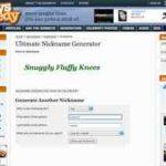 Online Spitznamen Generator – mit gorskys nickname-generator