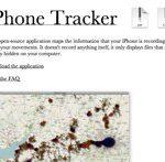 iPhone GPS Ortung – Bewegungsprofil auslesen – mit dem Programm iPhone Tracker