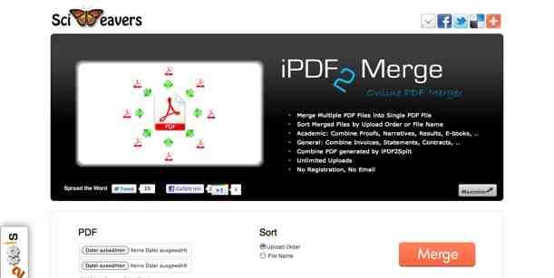 open source pdf merge tool