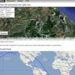 Aktuelle Position der ISS (International Space Station) auf Google Maps – mit iss.astroviewer.net