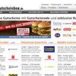 Gutscheine und Coupons für Mc Donalds, Tchibo, Amazon, Neckermann, Esprit, H&M, Zalando, Karstadt uvm – mit gutscheinbox.de
