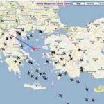 Live Flugverkehr über Griechenland beobachten – mit rdrinfo.net