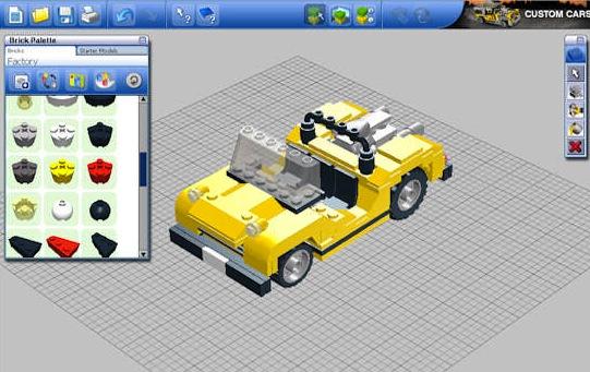 virtuell lego am pc bauen f r mac os x und windows mit lego digital designer. Black Bedroom Furniture Sets. Home Design Ideas