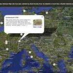 Historische Landkarte der Schweiz, Deutschland, England, Frankreich, Italien, uvm – online mit rumsey.geogarage.com