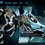 Tron Legacy als interaktives Comic online anschauen – mit disneydigitalbooks.go.com