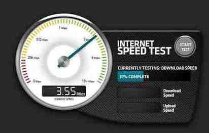 wie schnell ist mein internet geschwindigkeit testen mit. Black Bedroom Furniture Sets. Home Design Ideas