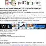PDF to jpg online converter – PDF in Bild umwandeln – mit pdf2jpg.net