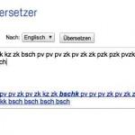 Beatbox Google Übersetzer – mit Google Translate