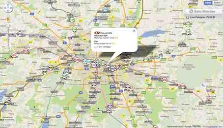 S Bahn Karte München.S Bahn München Verkehr Online Auf Karte Beobachten Mit S Bahn