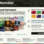 Andy Warhol Effekt online – mit warholize.me