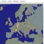 Live Blitzkarte und Blitzortung für Europa – mit blitzortung.org